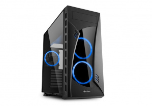 CAJA E-ATX SHARKOON NIGHTSHARK LITE USB3.0 NEGRA A 1