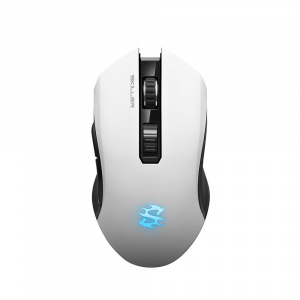 RATON SHARKOON SGM3 BLANCO RGB 1