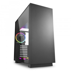 CAJA ATX SHARKOON PURE STEEL RGB 1