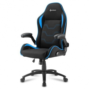 SILLA GAMER SHARKOON ELBRUS 1 NEGRO AZUL 1