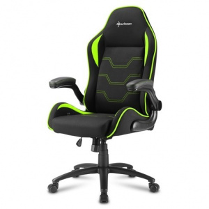 SILLA GAMER SHARKOON ELBRUS 1 NEGRO VERDE 1