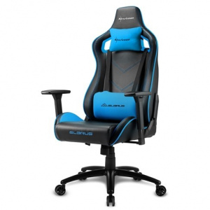 SILLA GAMER SHARKOON ELBRUS 2 NEGRO AZUL 1