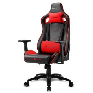 SILLA GAMER SHARKOON ELBRUS 2 NEGRO ROJO 1