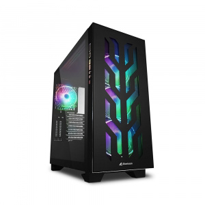 CAJA ATX SHARKOON ELITE SHARK CA300T BLACK 1