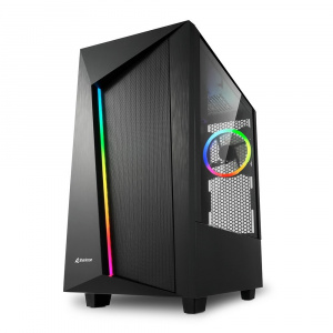 CAJA ATX SHARKOON REV100 RGB 1