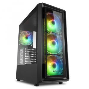 CAJA ATX SHARKOON TK4 RGB NEGRA 1