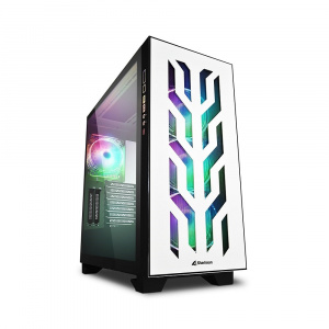 CAJA ATX SHARKOON ELITE SHARK CA300T WHITE 1