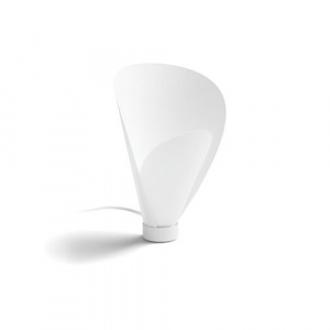 LAMPARA SOBREM. PHILIPS PINE WHITE 1X60W 1
