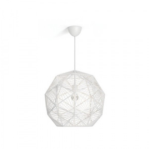 LAMPARA TECHO PHILIPS MOHAIR PENDANT WHITE 1