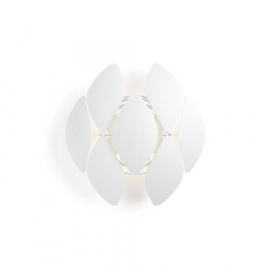 LAMPARA PARED PHILIPS CHIFFON WALL WHITE 1