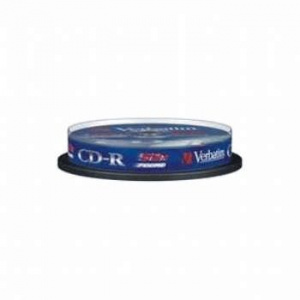 CD-R 700MB VERBATIM 52X TARRINA 10 DATALIFE 1