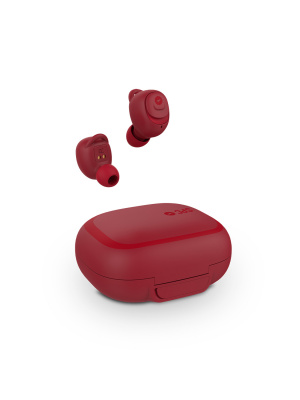 AURICULAR SPC EBON BLUETOOTH ROJO CON POWER BANK 1