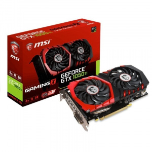 SVGA GEFORCE MSI GTX 1050 TI GAMING X 4G GDDR5 1