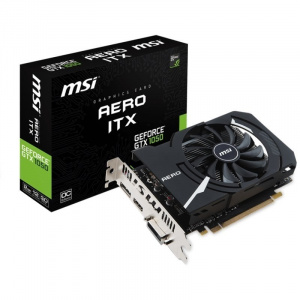 SVGA GEFORCE MSI GTX 1050 AERO ITX 2GB OCV1 DDR5 1