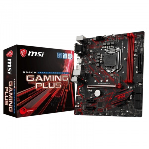 PLACA BASE 1151 MSI B360M GAMING PLUS  MATX/DDR4 1