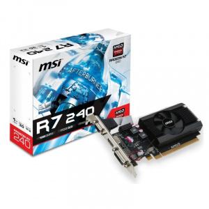 SVGA ATI RADEON MSI R7 240 1GD3 64BIT LP DDR3 VGA 1