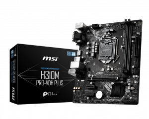 PLACA BASE 1151 MSI H310M PRO-VDH PLUS MATX/DDR4 1