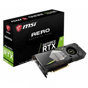 SVGA GEFORCE MSI RTX 2080 AERO 8GB DDR6 1