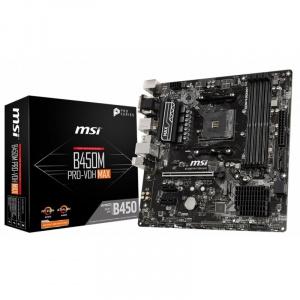 PLACA BASE AM4 MSI B450M PRO-VDH MAX MATX/USB 3.1/HDMI/M. 1