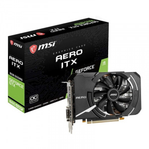 SVGA GEFORCE MSI GTX 1660 SUPER AERO ITX OC DDR6 6 1