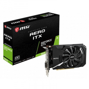 SVGA GEFORCE MSI GTX 1650 SUPER AERO ITX OC DDR6 4 1