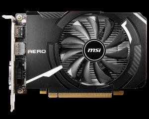 SVGA GEFORCE MSI GTX 1650 D6 AERO DS 4GB OC DDR6 1