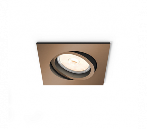 FOCO EMPOTRABLE  PHILIPS DOMEGAL RECESSED COPPER 1