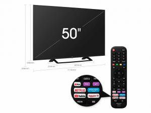 "TELEVISION 50"" HISENSE 50A7300F 4K UHD HDR SMART TV IA 1"