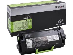 TONER LEXMARK 52D2000 NEGRO 6000PG 1