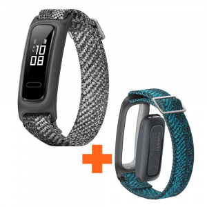 BUNDLE HUAWEI BAND 4E MISTY GREY + CORREA VERDE 1