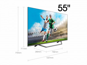 "TELEVISION 55"" HISENSE 55A7500F 4K UHD HDR SMART TV IA 1"