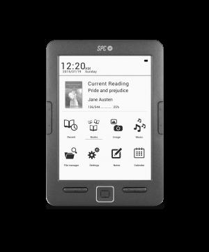 "E-BOOK SPC DICKENS EREADER 6"" 8GB 1"
