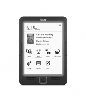 "E-BOOK SPC DICKENS LIGHT EREADER 6"" 8GB 2"