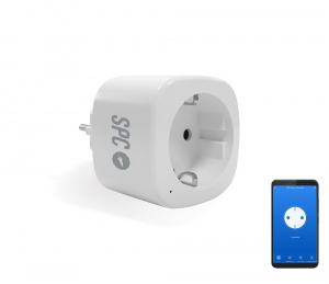 ENCHUFE INTELIGENTE SPC IOT CLEVER PLUG MINI 1