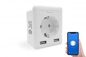 ENCHUFE INTELIGENTE SPC IOT CLEVER PLUG USB 1