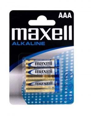 PILAS MAXELL ALCALINA AAA/LR03 PACK 4U 1