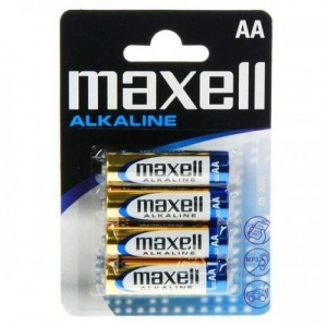 PILAS MAXELL ALCALINA AA/LR06 PACK 4U 1