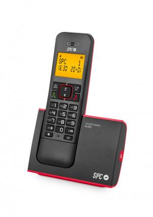 TELEFONO SPC 7290R BLADE NEGRO/ROJO 1