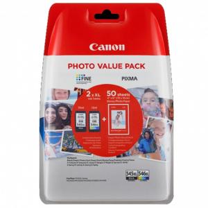CARTUCHO CANON PG-545XL/CL-546XL ORIGINAL - NEGRO, 1