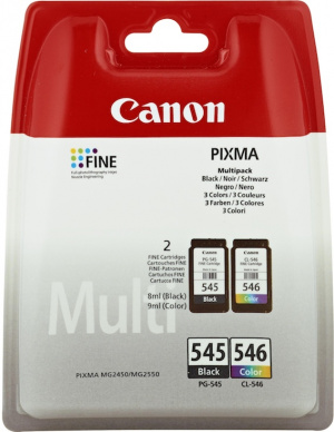 CARTUCHO CANON PG-545/CL546 MULTIPACK 1