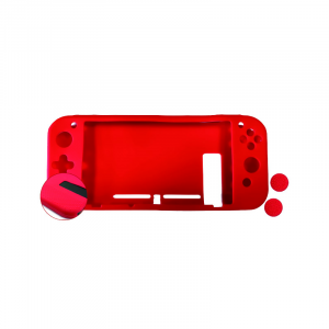 SILICONA ANTID.+2GRIPS+FILM NUWA ROJA PARA SWITCH 1