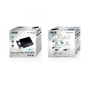 REGRABADORA DVD EXT. ASUS SLIM SDRW08D2S-B NEGRA USB2.0 1