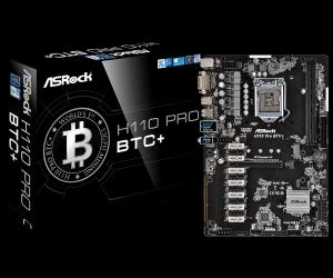 PLACA BASE 1151 ASROCK  H110 PRO BTC+/ ATX/USB 3.0 1