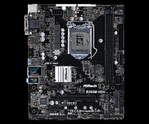 PLACA BASE 1151 ASROCK B360M-HDV MATX/DDR4 5