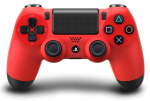 MANDO PS4 DUAL SHOCK 4 ROJO V2 1