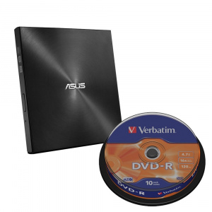 REGRABADORA DVD EXT. ASUS SLIM SDRW-08U9M-U BLACK 1