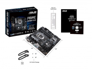 PLACA BASE 1151 ASUS PRIME H370M-PLUS  MATX/4XDDR4/3.1 1