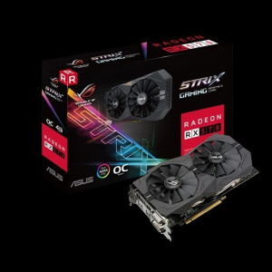 SVGA AMD ASUS STRIX RX570-O4G GAMING 4GB GDDR5 1