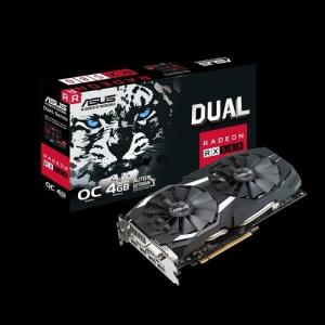 SVGA AMD ASUS RX 580-O4G 4GB DDR5 1