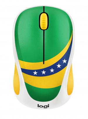 RATON LOGITECH M238 WORLD CUP EDITION BRASIL 1